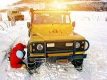 Patagonia SUV-Erforschungs-Ausflug Lizenzfreie Stockbilder