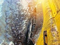 Patagonia SUV-Erforschungs-Ausflug Stockfoto