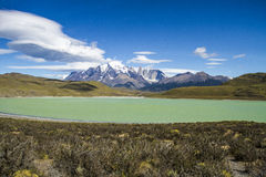 Patagonia - Torres del Paine National Park Stock Photography
