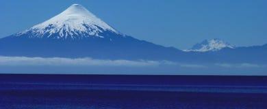 Patagonia Volcano Stock Photo