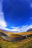 Patagonia was taken by lens Fisheye Stock Photo