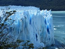 Patagonia. Wonderful Perito Moreno Glacier Stock Image