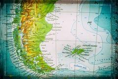Patagonia y Falkland Islands Imagen de archivo