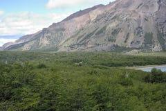 Patagonialandskap Arkivfoton
