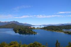 Patagonialandskap - Bariloche - Argentina Arkivfoto