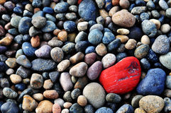 Patagonian βράχοι Στοκ Εικόνα
