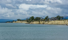 Patagonian σπίτι Στοκ Εικόνες