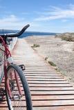 Patagonian Bike stock image
