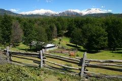 Patagonian estancia stock photos