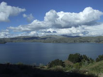 Patagonian jezioro Obrazy Royalty Free