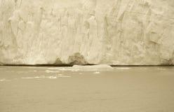 Patagonian landscape. Glacier detail. Argentina Stock Images