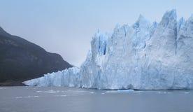 Patagonian landscape with glacier. Perito Moreno Stock Photography