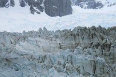 Patagonian landscape with glacier. Perito Moreno. Argentina. Royalty Free Stock Image