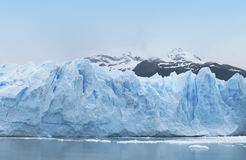 Patagonian landscape with glacier. Perito Moreno. Argentina Stock Photos