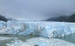 Patagonian landscape with glacier. Perito Moreno. Argentina Stock Photography