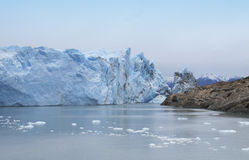 Patagonian landscape. Perito Moreno glacier. Argentina Royalty Free Stock Image