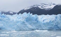 Patagonian landscape. Perito Moreno glacier. Argentina Stock Photo
