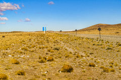 Patagonian Landscape Scene, Argentina Stock Photos