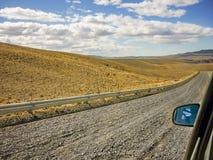 Patagonian Landscape Scene, Argentina Stock Photo