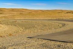 Patagonian Landscape Scene, Argentina Royalty Free Stock Images