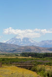 Patagonian Landschaft Stockfotografie