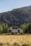 Patagonian Landschaft an einem sonnigen Tag Lizenzfreie Stockfotografie