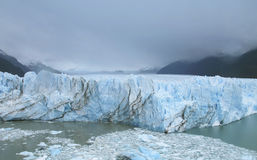 Patagonian Landschaft mit Gletscher Perito Moreno argentinien Stockfotografie