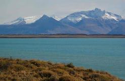 patagonian landskap royaltyfri foto