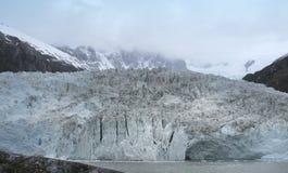 Patagonian landskap med glaciären arenaceous härligt dimensionellt diagram illustration södra tre för 3d Amerika mycket arkivbilder