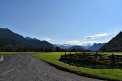Patagonian Park Lizenzfreie Stockfotografie