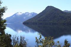 Patagonian Reflexionen Lizenzfreie Stockbilder