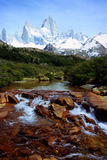 Patagonian Scenery Stock Photo