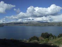 Patagonian sjö Royaltyfria Bilder