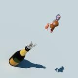 Patalocco champagne Stock Image