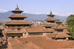 patan的尼泊尔 免版税库存图片