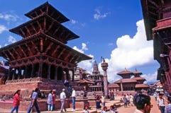 Patan -尼泊尔 库存照片