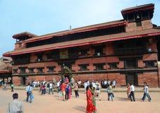 patan的尼泊尔 库存照片