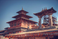 Patan. Ancient city in Kathmandu Valley. Nepal Stock Images