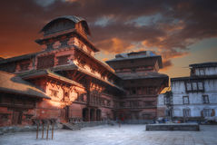 Patan. Ancient city in Kathmandu Valley. Nepal Royalty Free Stock Photography