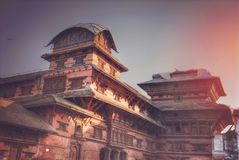Patan. Ancient city in Kathmandu Valley. Nepal Stock Photo