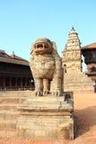 Patan durbar fyrkant i Nepal. Fotografering för Bildbyråer