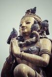 Patan Durbar fyrkant, Katmandu, Nepal fotografering för bildbyråer