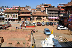 Patan Durbar kwadrat fotografia stock