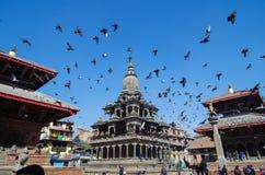 Quadrat in Nepal lizenzfreies stockbild