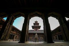 Patan Durbar Sqare lizenzfreies stockfoto