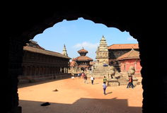 Patan durbar square. Stock Photo