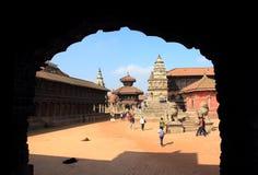 Patan durbar square. Stock Photo