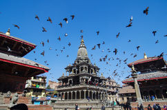Square in nepal Royalty Free Stock Image