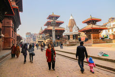 Patan durbar square  Kathmandu Nepal Stock Images