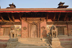 Patan durbar square Royalty Free Stock Images